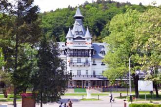 Vedere de ansamblu Hotel Central Călimănești