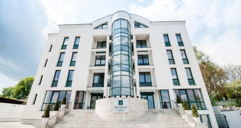 Vedere de ansamblu Boutique Hotel Alex Si George Cluj-Napoca