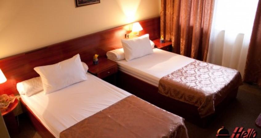 Vedere de ansamblu Cameră Twin Hotel Caraiman
