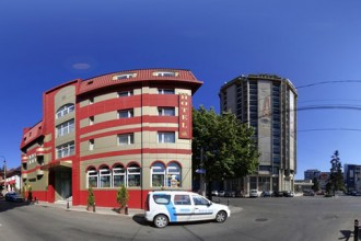 Vedere de ansamblu Hotel Carmen Pitesti
