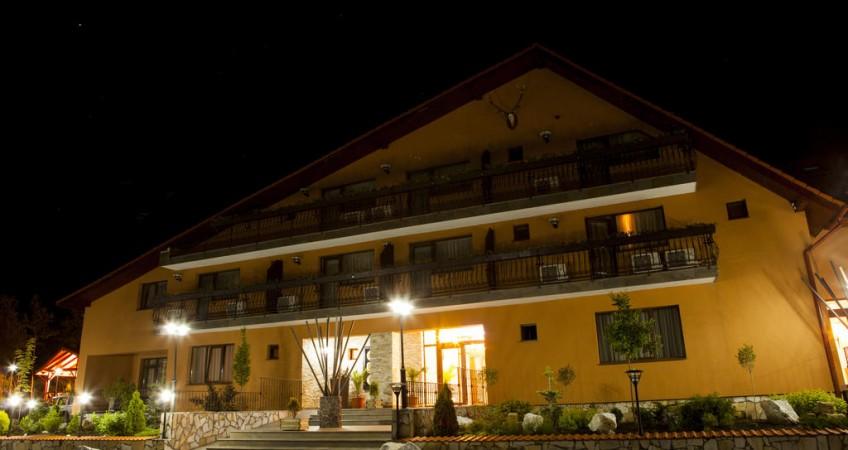 Vedere de ansamblu Hotel Belvedere Sovata